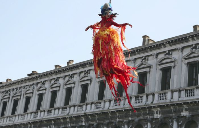 volo dell'angelo venezia