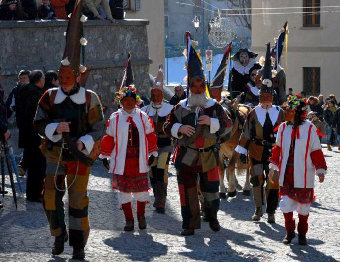 storia carnevale bormio 2018