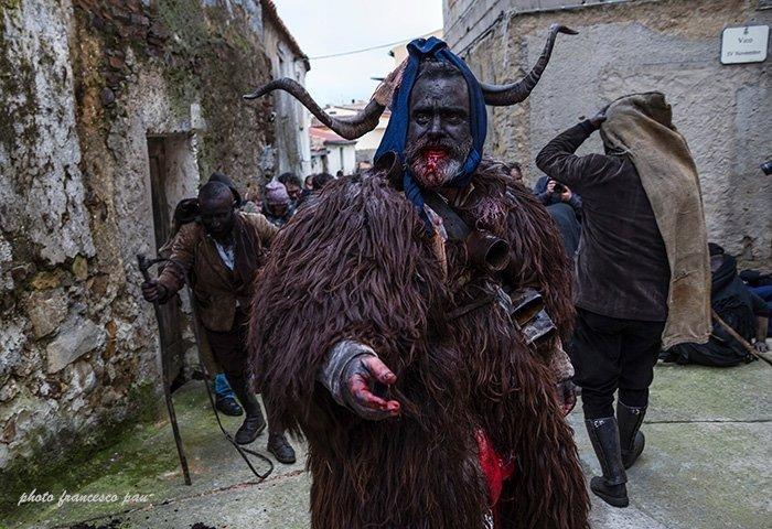 carnevale sardegna 2018 su battileddu