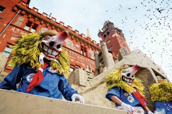 maschere carnevale basilea 2019