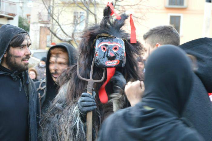 maschere carnevale molise 2018