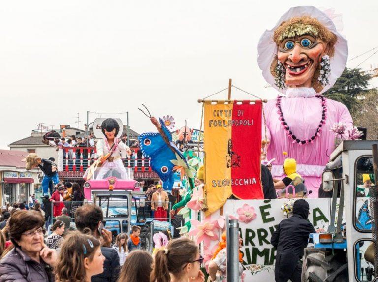 """Carnevale di Forlimpopoli 2021: alla scoperta della """"Segavecchia"""""""